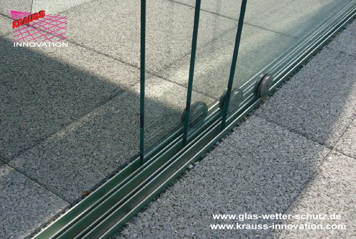 Glasdach Und Windschutz Verglasung Terrasse Direkt Vom Hersteller ... Schiebeturen Fur Die Terrasse