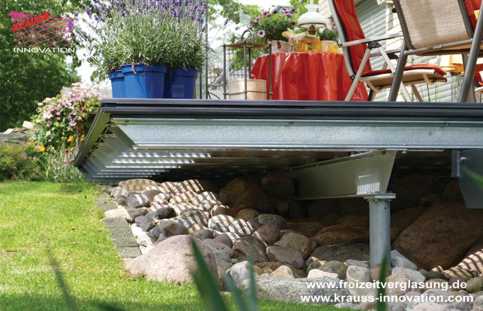 Schwebende Terrasse Mit Verglasung Direkt Vom Hersteller Krauss Gmbh