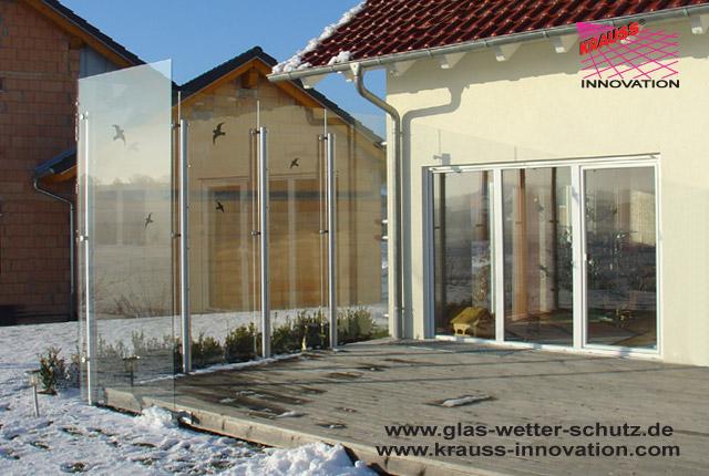 Windschutz Terrasse Glas Metall Gallery Of Jetzt Anfragen With