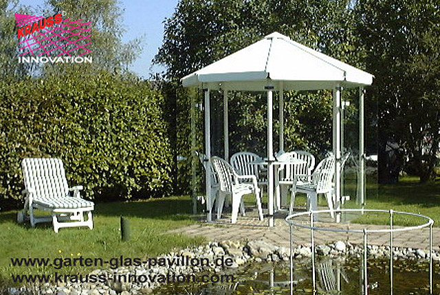 garten pavillon direkt vom hersteller krauss gmbh 88285. Black Bedroom Furniture Sets. Home Design Ideas