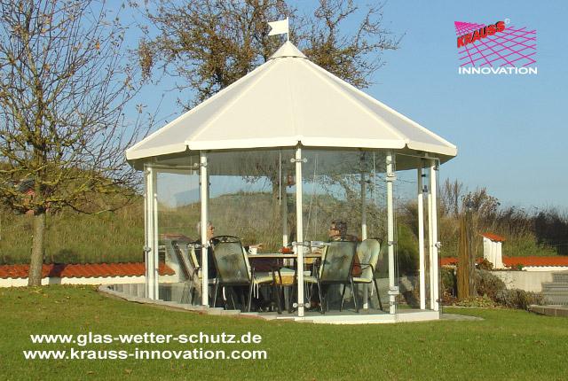 Gartenpavillon direkt vom hersteller krauss gmbh 88285 - Gartenpavillon glas ...
