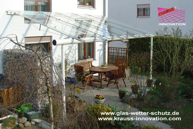 Glasdach Terasse design glasdach als terrassen ueberdachung krauss gmbh d
