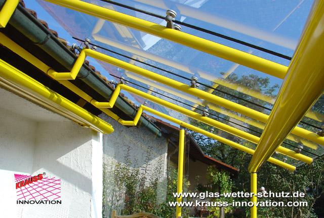 terrassenuberdachung an dachsparren befestigen, design terrassenueberdachungen direkt vom hersteller krauss gmbh, d, Design ideen